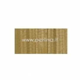 Pūkuota šenilo vielutė, smėlio sp., 30,5 cm, 1 vnt.