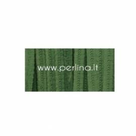 Pūkuota šenilo vielutė, samanų žalia sp., 30,5 cm, 25 vnt.