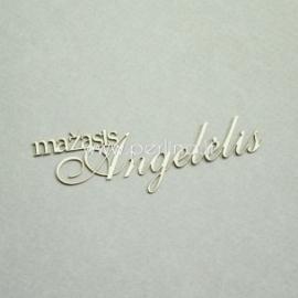"""Kartoninė detalė """"Mažasis Angelėlis"""", 3 vnt."""