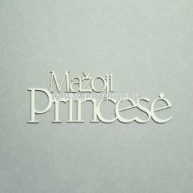 """Kartoninė detalė """"Mažoji Princesė"""", 1 vnt."""