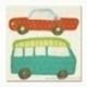 """Kartoninės iškarpos """"Road Trip"""", 8x8 cm"""