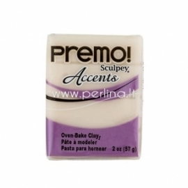 "Premo Sculpey Accent ""Translucent"", 57g."
