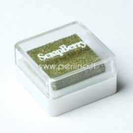 "Pigmentinis rašalas ""Olive"", 2,5x2,5 cm"