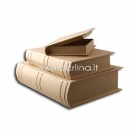 Paper mache book box set, 3 pcs
