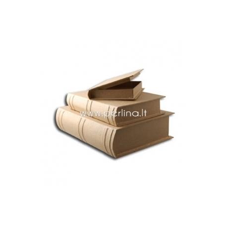 """Kartoninių dėžučių rinkinys """"Knygos"""", 3 vnt."""