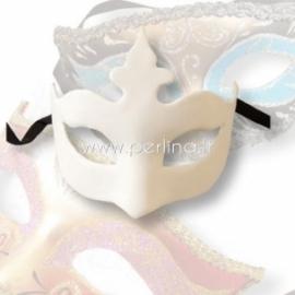 """Paper mache decoration """"Venetian Mask"""", 15x12 cm, 1 pc"""