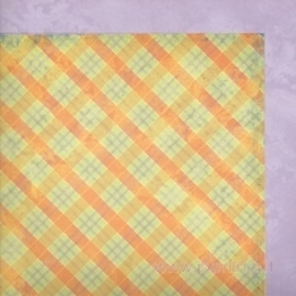 """Popierius """"Memories Plaid"""", 30,5x30,5 cm"""