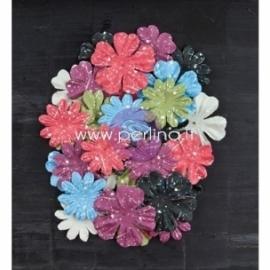 """Popierinių gėlyčių žiedlapiai """"Stationers Desk Collection - Rewrite"""", 36 vnt."""