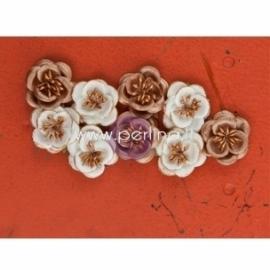 """Popierinės gėlytės """"Italia Collection - Tenacious"""", 9 vnt."""