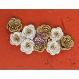 """Popierinės gėlytės """"Italia Collection - Tempting"""", 9 vnt."""