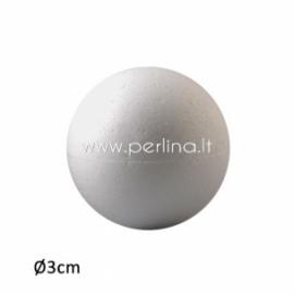 Putų polisterolo burbulas, 3 cm