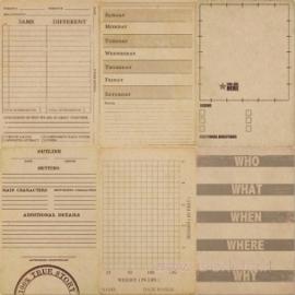 """Popierius """"Day 223"""", 30,5x30,5 cm"""