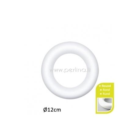 Putų polisterolo žiedas, 12 cm