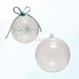 Skaidraus plastiko burbulas, 8 cm
