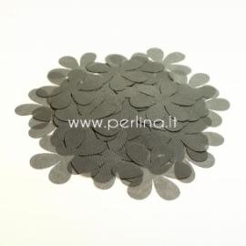 Medžiaginės gėlytės, pilka sp., 1 vnt., dydis pasirenkamas