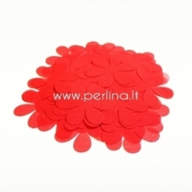 Fabric flowers, red, 1 pc, select size
