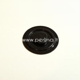 Vakuminis plastikinis CD laikiklis, juodas