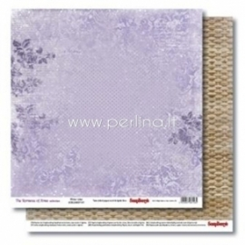 "Popierius ""Winter Lilac - The Romance of Xmas Collection"", 30,5x30,5 cm"