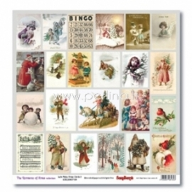 "Popierius ""Lets Make Xmas Cards 2 - The Romance of Xmas Collection"", 30,5x30,5 cm"