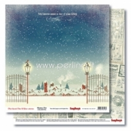 "Popierius ""Christmas Fair - That Special Time of Year Collection"", 30,5x30,5 cm"