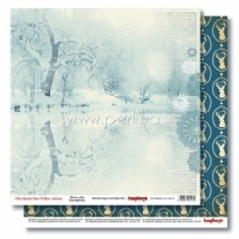 "Popierius ""Frozen Lake - That Special Time of Year Collection"", 30,5x30,5 cm"