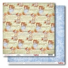 "Popierius ""Dreams - Sweetheart Collection"", 30,5x30,5 cm"