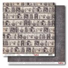 "Popierius ""Zoom - Photo Archieve Collection"", 30,5x30,5 cm"