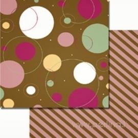 """Popierius """"Funny Bubbles"""", 30,5x30,5 cm"""