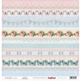 "Popierius ""Lightness - Butterflies Collection"", 30,5x30,5 cm"