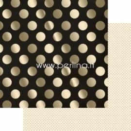 """Popierius """"Sparkle - Market Street Collection"""", 30,5x30,5 cm"""