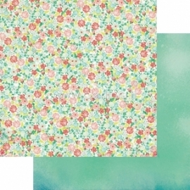 "Popierius ""Wild Berry Hey You Gardens - Jubilee Collection"", 30,5x30,5 cm"