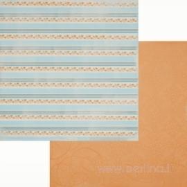 "Popierius ""Peachy"", 30,5x30,5 cm"