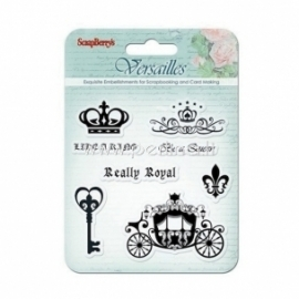 "Akrilinis antspaudas ""Like a king - Versailles Collection"", 8 vnt"
