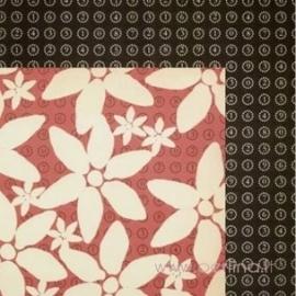 "Popierius ""Adderley Floral"", 30,5x30,5 cm"