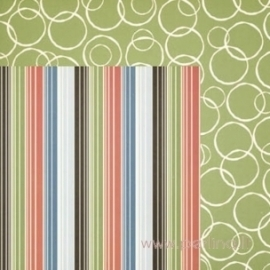 """Popierius """"Pentz Stripe"""", 30,5x30,5 cm"""