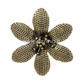 """Pakabukas """"Gėlė"""", ausko sp., 6x5,4 cm"""
