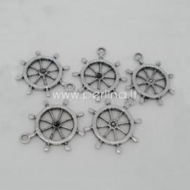 """Pakabukas """"Šturvalas"""", ant. sidabro sp., 29x25 mm"""