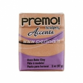 "Premo Sculpey Accent ""Copper"", 57g."