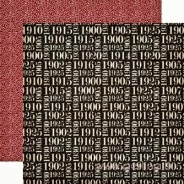 "Popierius ""Date to Remember"", 30,5x30,5 cm"