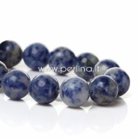 Mashan žadeitas, mėlynas, 10 mm