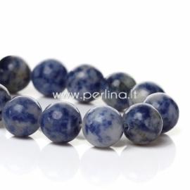 Marmurinis nefritas, mėlynas, 10 mm
