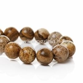 Marmurinis nefritas, žemės sp., 12 mm