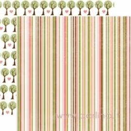 "Popierius ""Stripe"", 30,5x30,5 cm"