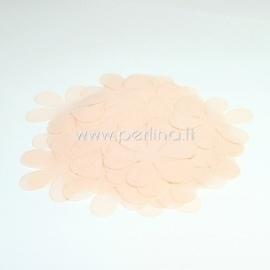 Fabric flower, light peach, 1 pc, select size