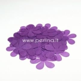 Medžiaginės gėlytės, violetinė sp., 1 vnt., dydis pasirenkamas