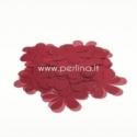 Medžiaginės gėlytės, bordo sp., 1 vnt., dydis pasirenkamas
