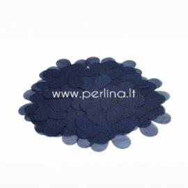 Medžiaginė gėlytė, tamsi mėlyna sp., 1 vnt., dydis pasirenkamas