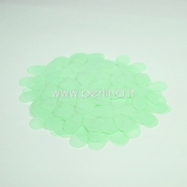 Medžiaginės gėlytės, šviesi mėtinė sp., 1 vnt., dydis pasirenkamas