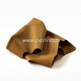 Natūralios karvės odos atraižos, šviesiai ruda sp., 200 g.