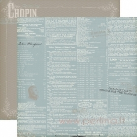 "Popierius ""Words"", 30,5x30,5 cm"